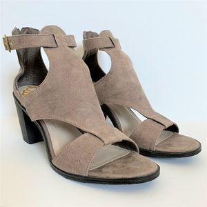 Fergilicious Marquette Stacked Heel Sandal